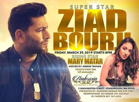 Ziad Bourji Concert & Dinner