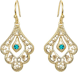 Princess Jasmine Gold Plated Earrings