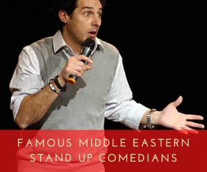 Famous Middle Eastern Stand Up Comedians