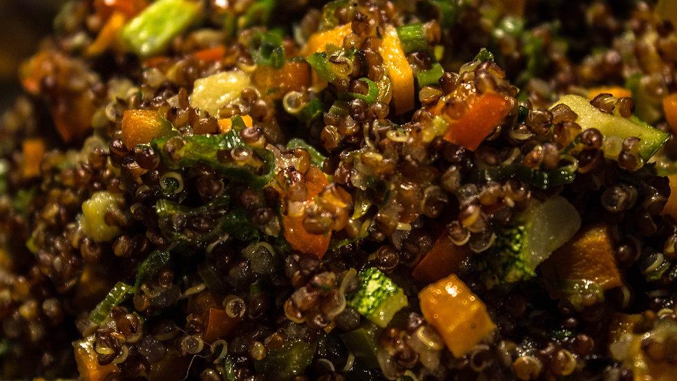 Timbal de Quinoa