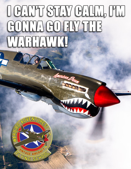 Warbird Meme : Stay Calm