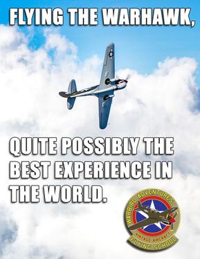 Warbird Meme : Best experience in the world