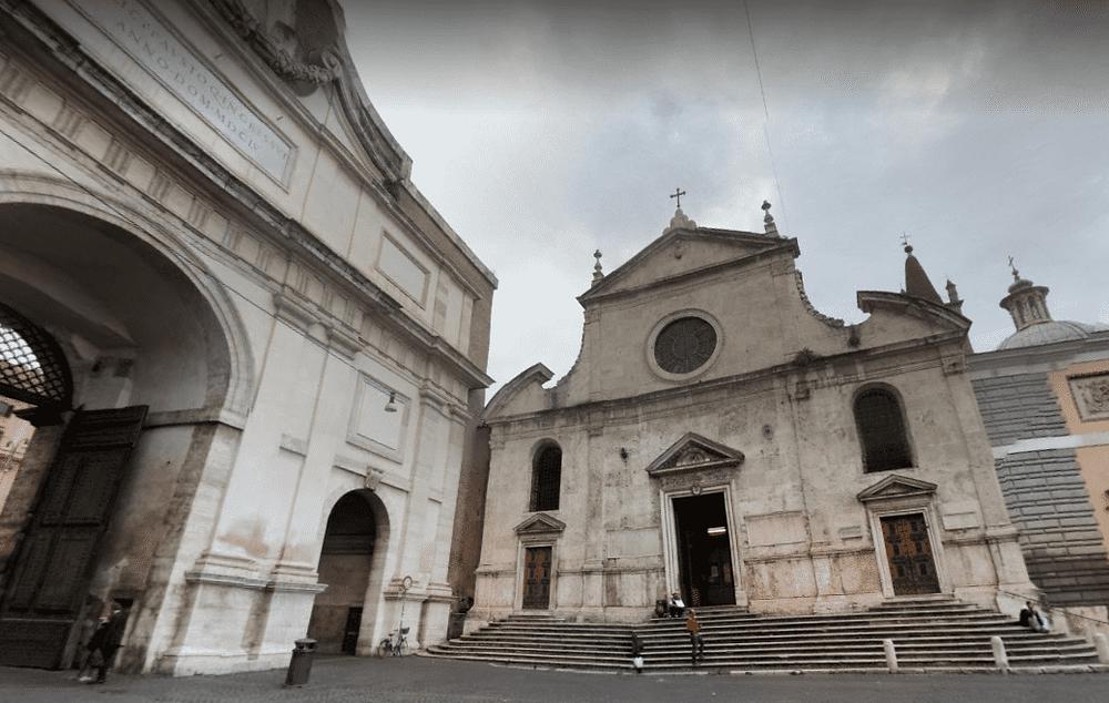 סיור חינם ברומא - כנסיית סנטה מריה דל פופולו ברומא