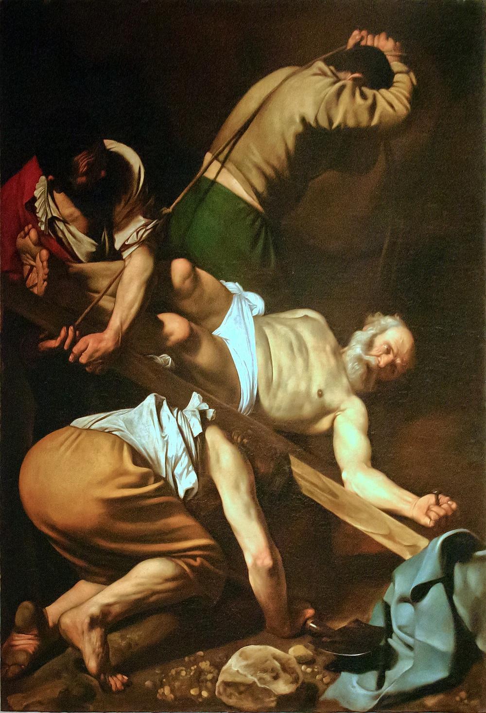 סיור חינם ברומא - ליבתו של פטרוס הקדוש מאת  קארווג'ו