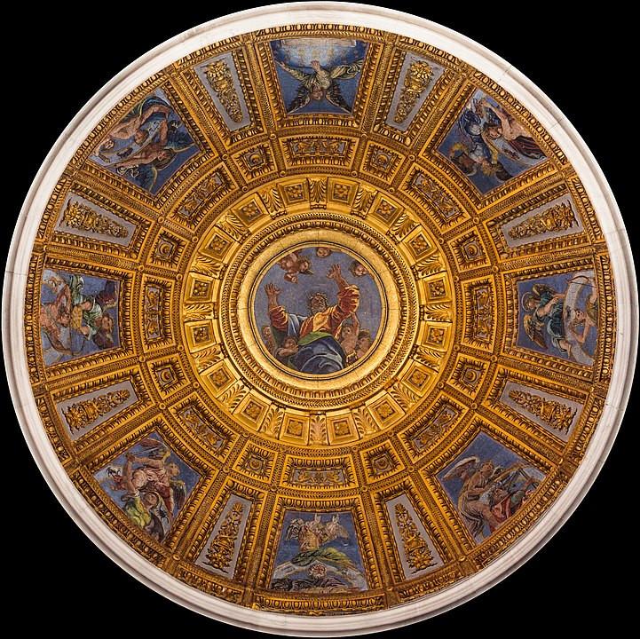 סיור חינם ברומא -קרת המוזיאקה קפלה צ'יגי מאת רפאל