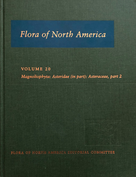 Flora of North America vols 6, 9,12,13,16 19, 20, 21,