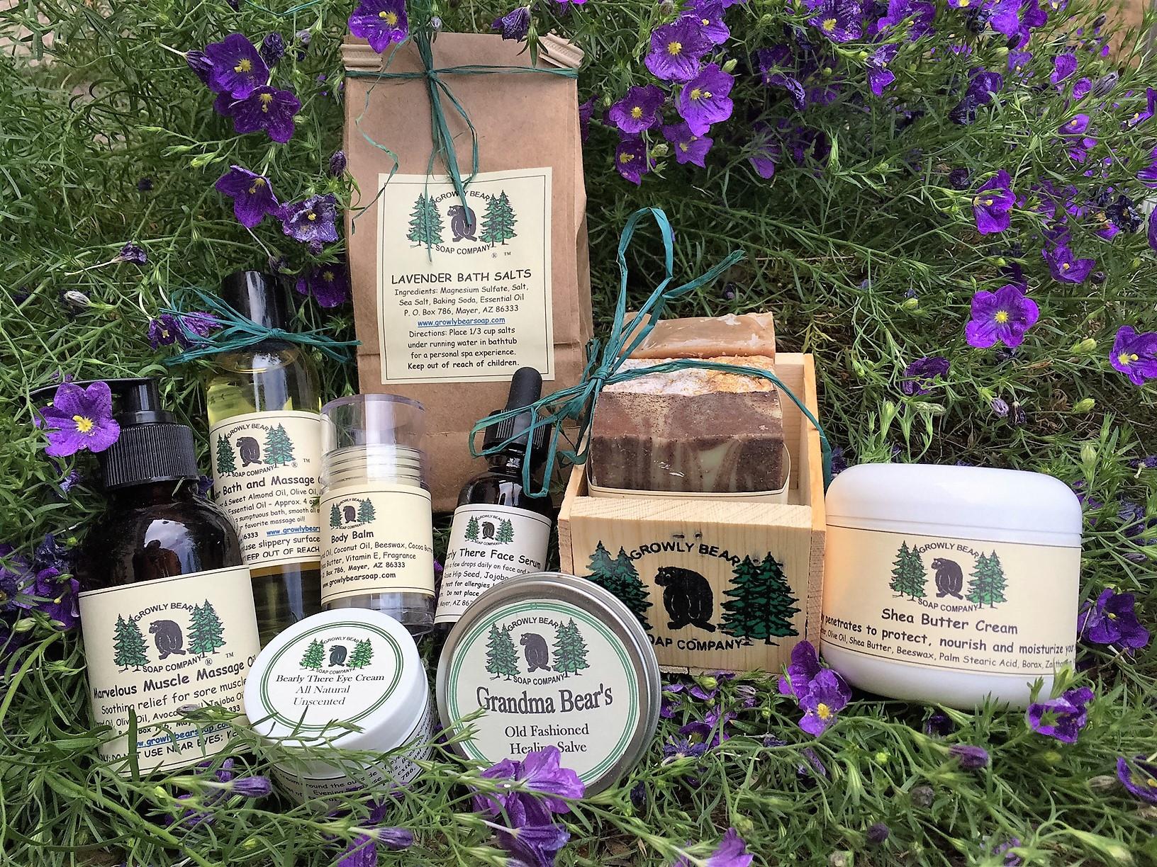 Handmade Soap | Mayer | Growly Bear Soap Company