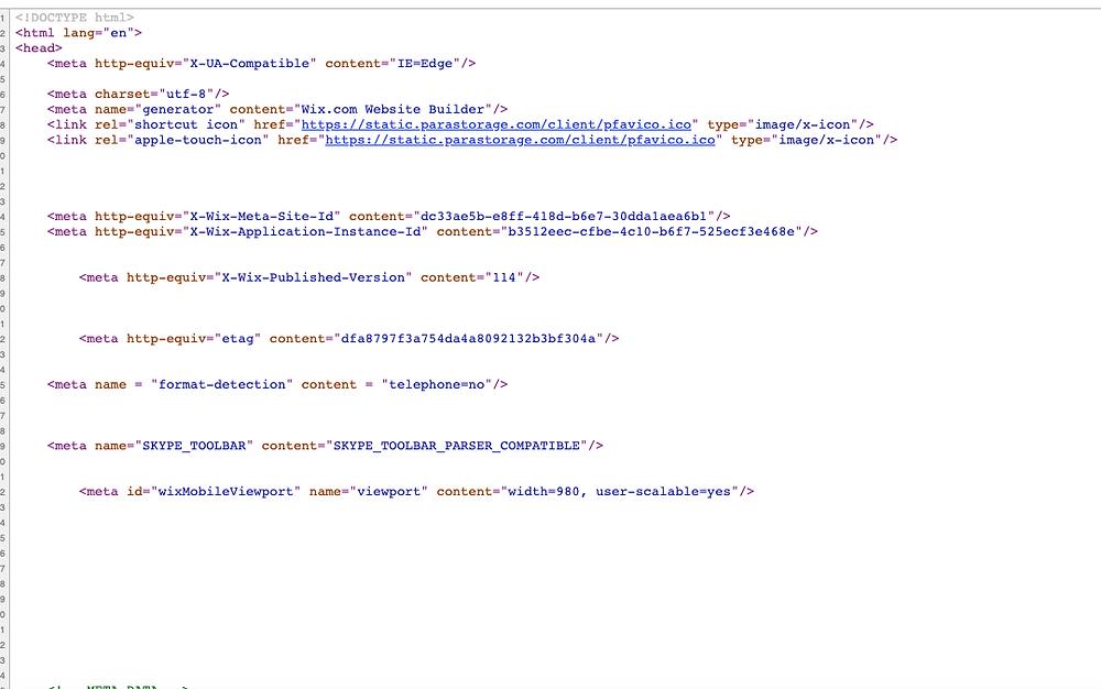 Source code for the Dark Traveler SEO homepage.