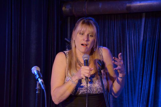 LINDA COLLINS, live vocal peformance NYC