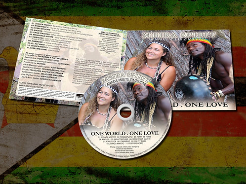 MBIRA SPIRIT CD . ONE WORLD . ONE LOVE