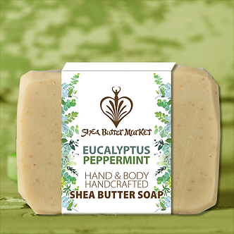 BAR SOAP ~EUCALYPTUS / PEPPERMINT~