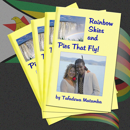 RAINBOW SKIES AND PIES THAT FLY!
