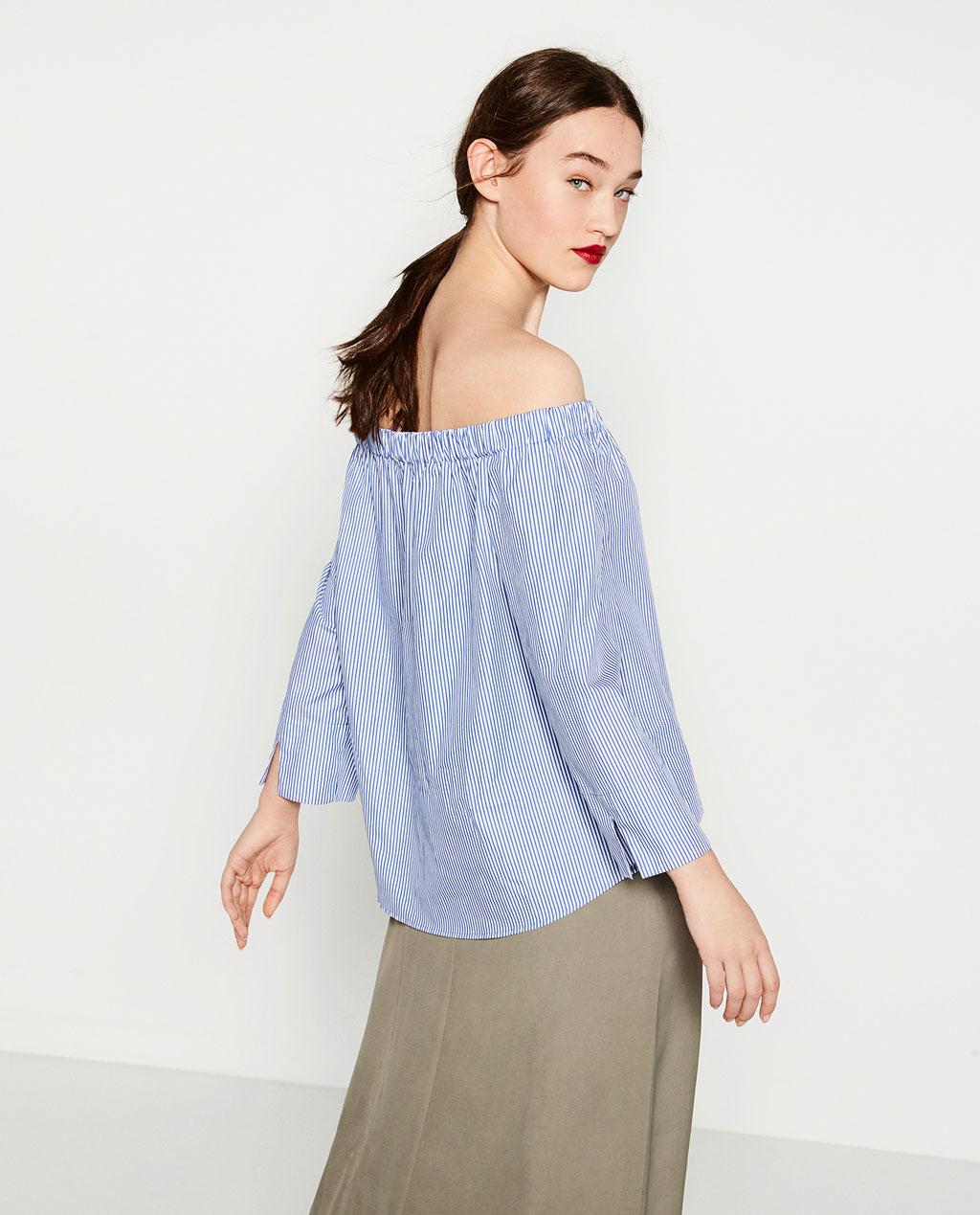 Zara off shoulder top