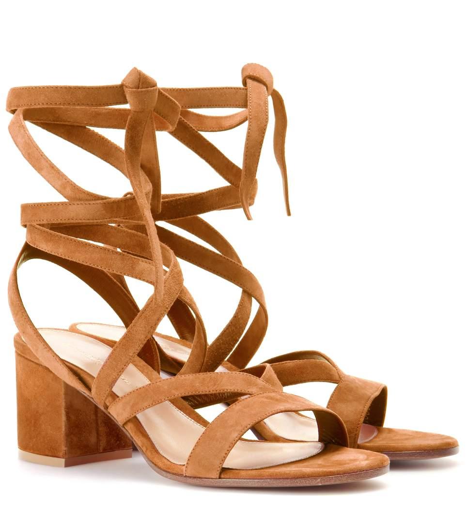 GIANVITO ROSSI Janis-Low-suede-sandals-STANDARD