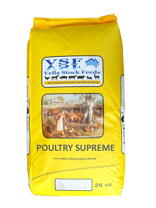 Vella Poultry Supreme Pellets -18kg