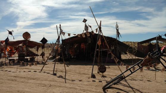 Hovel at Wasteland Weekend