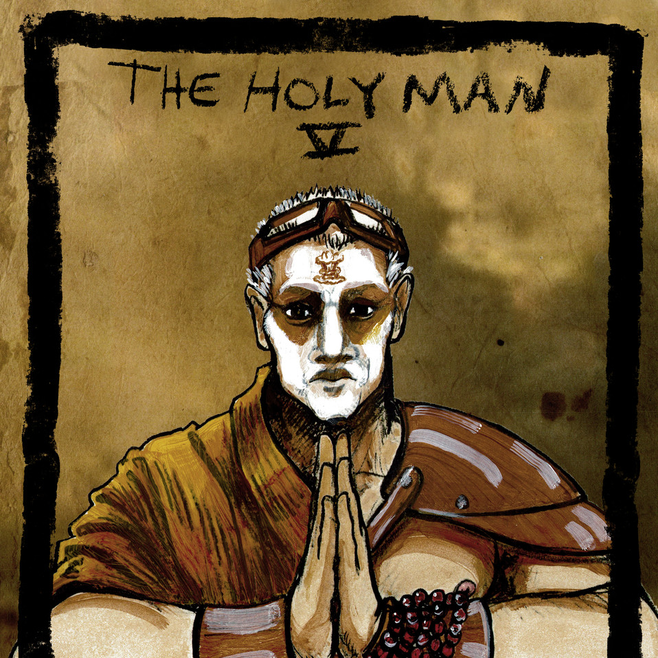 Holy Man Card
