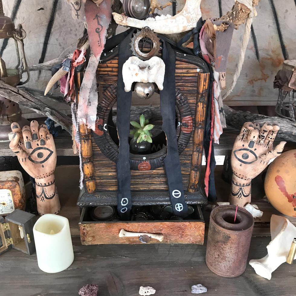 Green Altar Piece