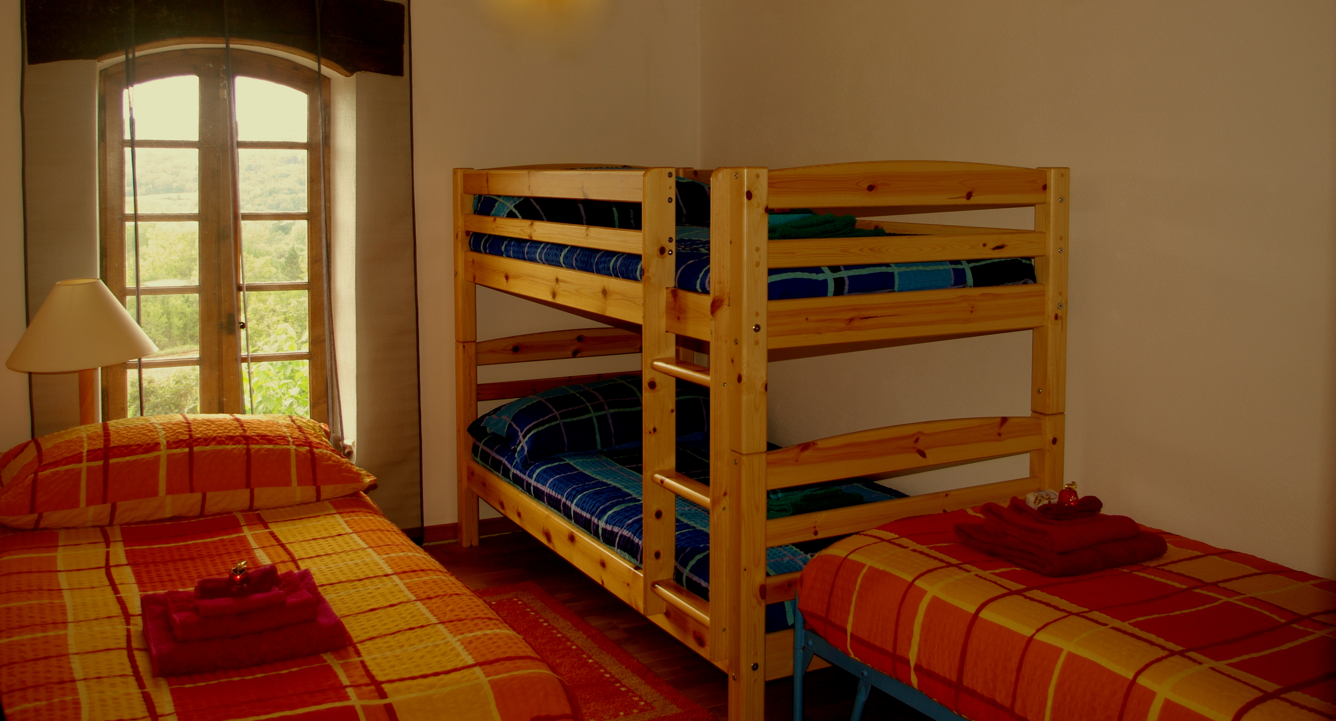 Room with bunkbed