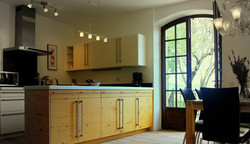 35 m² open-plan Küche