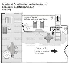 Ancien Monastere Innenhofzimmer
