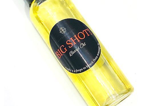 Big Shot! Beard Oil