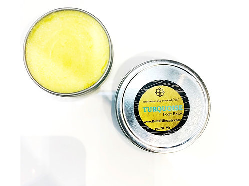 Turquoise Foot Balm