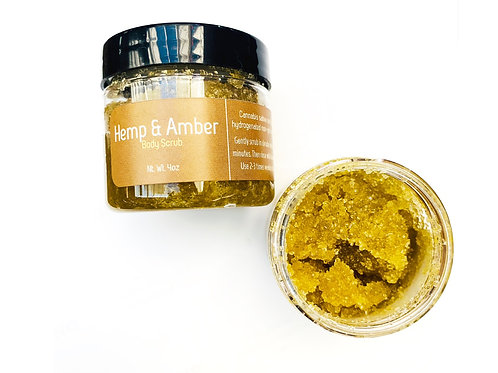 Hemp & Amber Body Scrub
