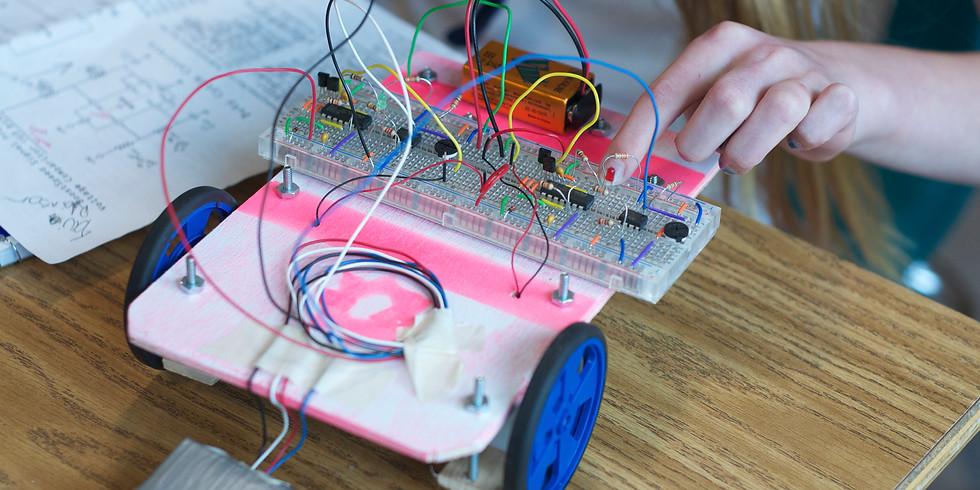 Arduino Line Following Robots               July 5-9 1PM-4PM