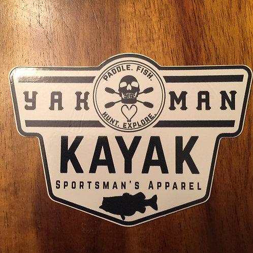 YAK-MAN Bass Decal