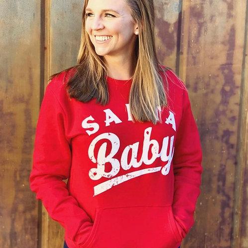 Santa Baby Pocket Sweatshirt
