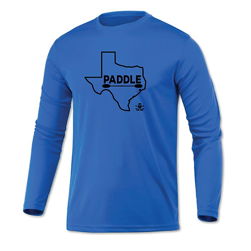 YAK-MAN 'Paddle Texas' DriFit in Blue