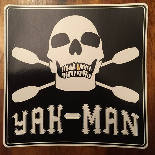YAK-MAN Logo Decal