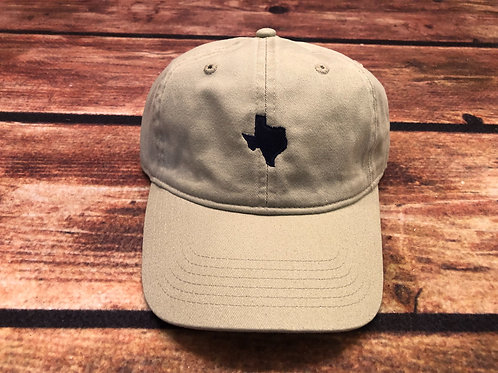 Texas Dad Hat- Khaki