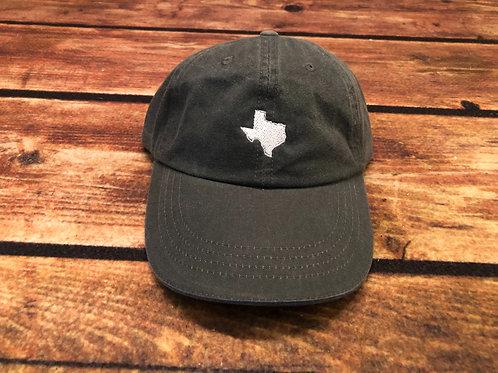 Texas Dad Hat- Gray