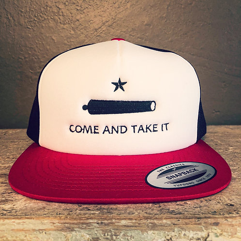 Come and Take It - Foam Snap Back Trucker