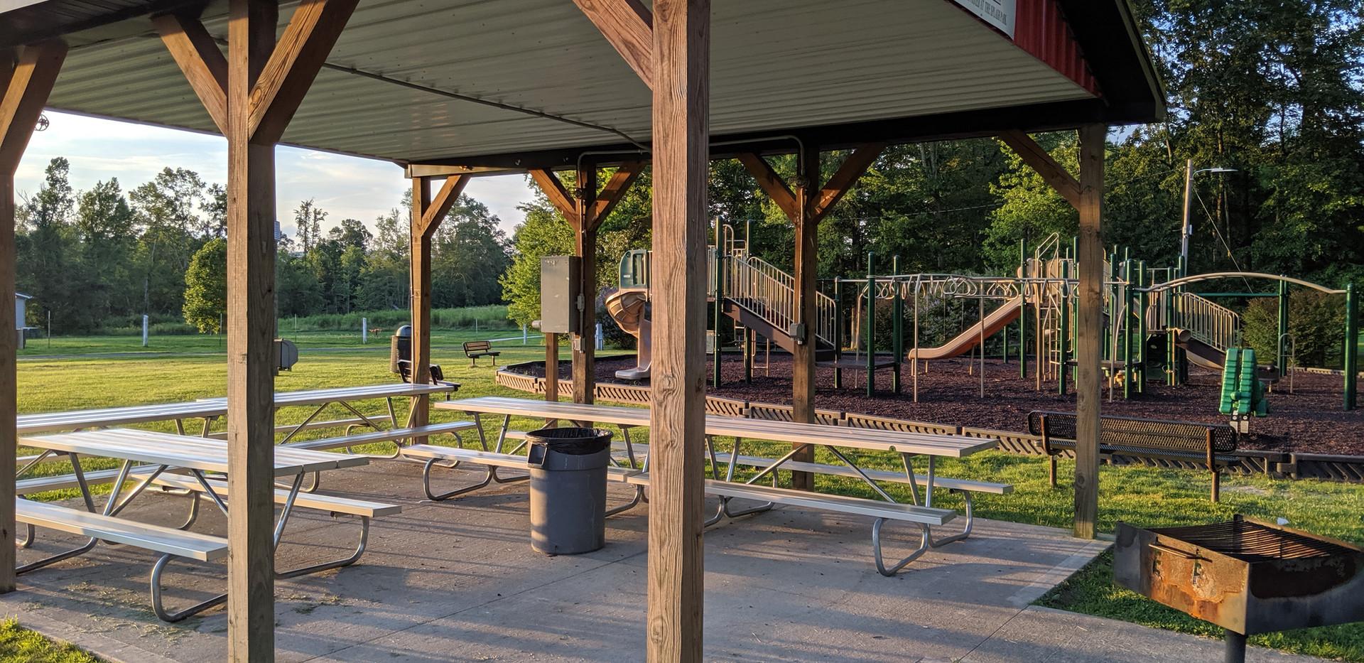 The Big Green Playground Pavilion