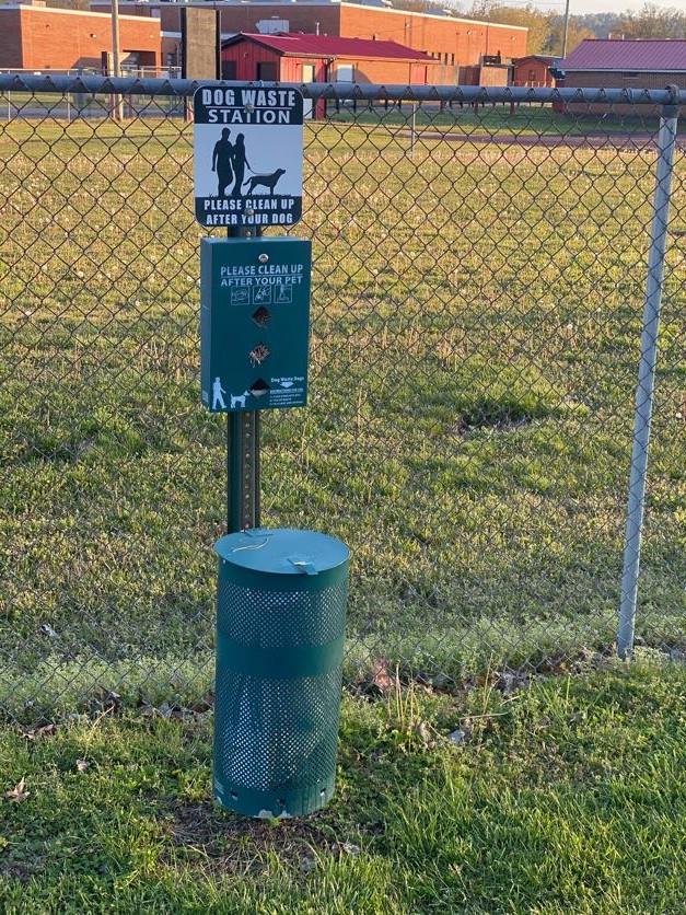 Walking trail dog cleanup station.jpg