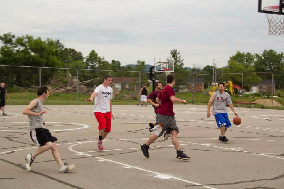 The Basketball Courts