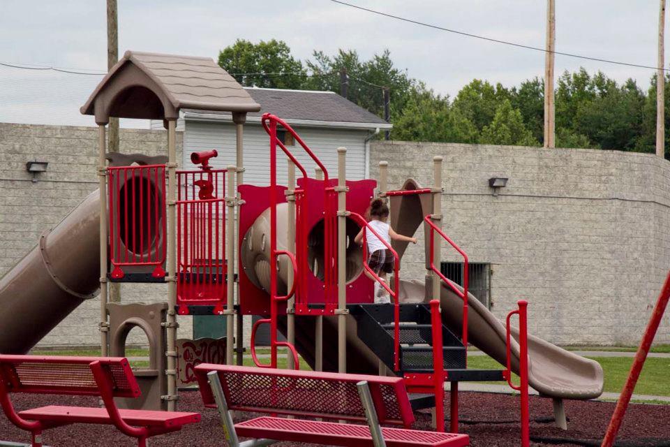 The Red Playground