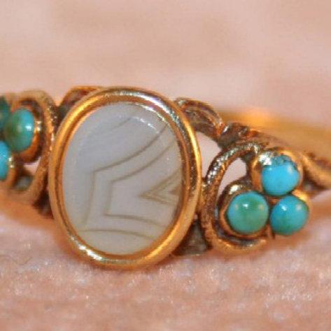 Georgian Ring 18kt Gold