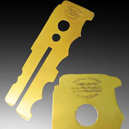 Brass Button Polishing Stick c1922