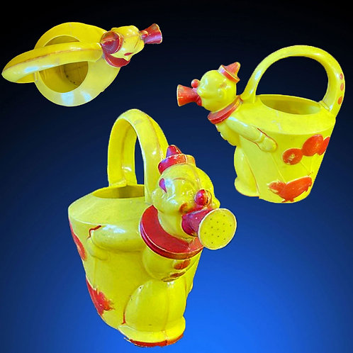 Deco Clown Watering Can c1940s