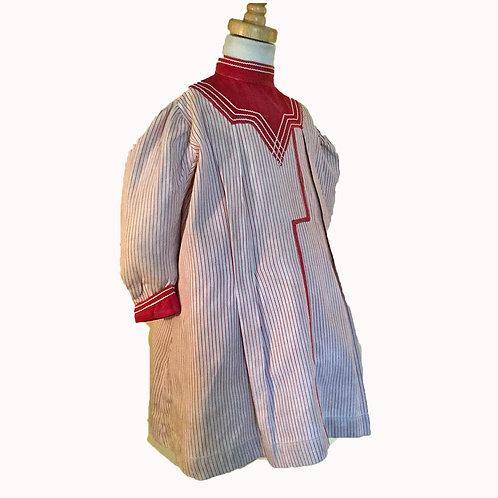 Little Boy's Zouave Tunic Dress c1875