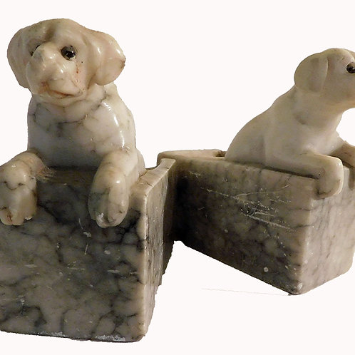 Labs in Marble, Bookends