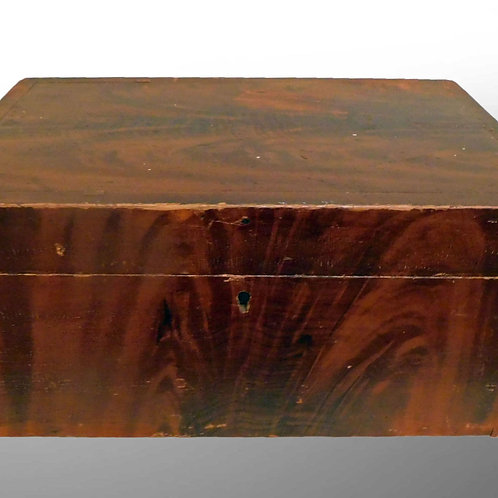 Desk Box in Grain Paint c1840-50s