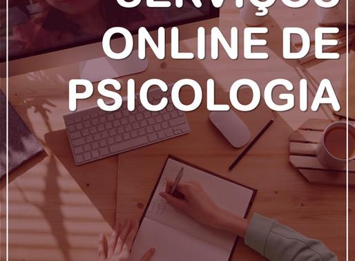 Serviços Online de Psicologia