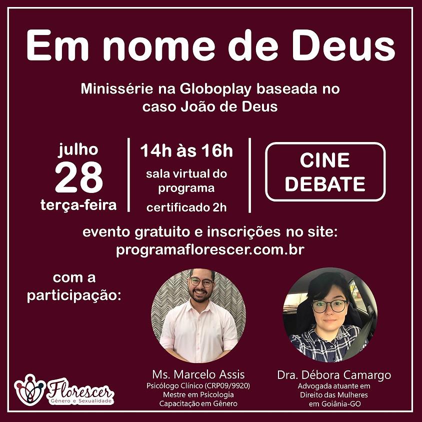 Cine Debate - Em nome de Deus