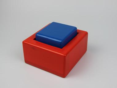 MIKU ROJO-AZUL mini-cubo