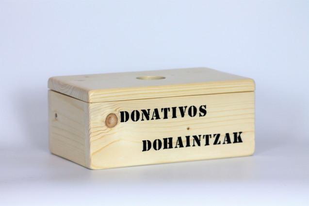 DONATIVOS caja